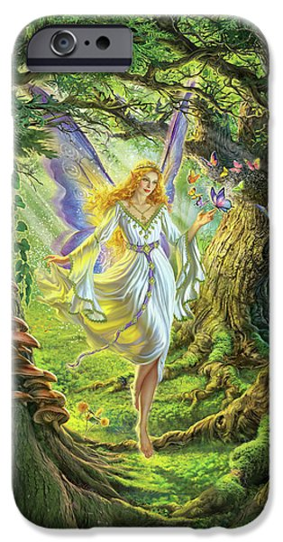 Fairy iPhone 6s Case - The Fairy Queen by Mark Fredrickson