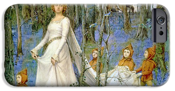 Elf iPhone 6s Case - The Fairy Wood by Henry Meynell Rheam