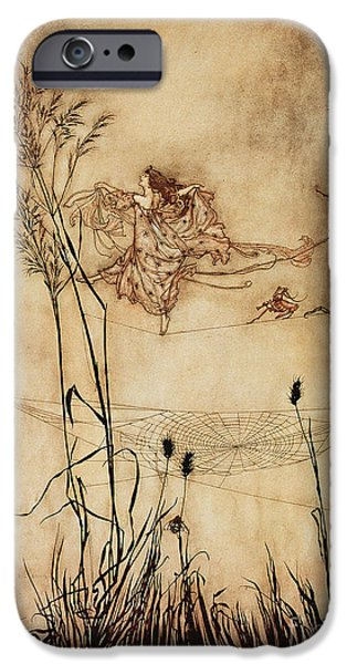 The Fairy's Tightrope From Peter Pan In Kensington Gardens IPhone 6s Case by Arthur Rackham