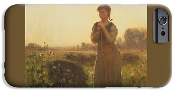 The Farm Girl IPhone 6s Case by Arthur Hacker