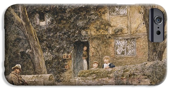 The Fiddler IPhone Case by Helen Allingham