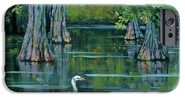 Heron iPhone 6s Case - The Fisherman by Dianne Parks