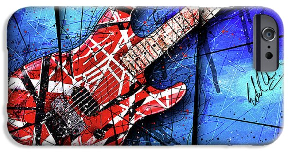 The Frankenstrat Vii Cropped IPhone 6s Case by Gary Bodnar