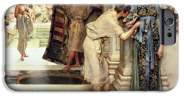 The Frigidarium IPhone Case by Sir Lawrence Alma-Tadema