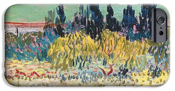 Garden iPhone 6s Case - The Garden At Arles  by Vincent Van Gogh