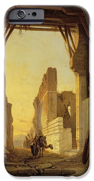 The Gates Of El Geber In Morocco IPhone 6s Case by Francois Antoine Bossuet