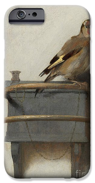 The Goldfinch, 1654  IPhone 6s Case by Carel Fabritius