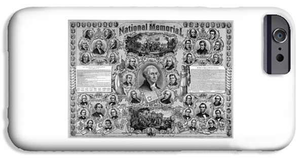 George Washington iPhone 6s Case - The Great National Memorial by War Is Hell Store