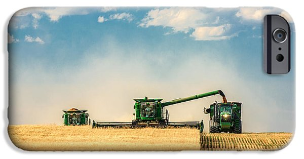 Rural Scenes iPhone 6s Case - The Green Machines by Todd Klassy