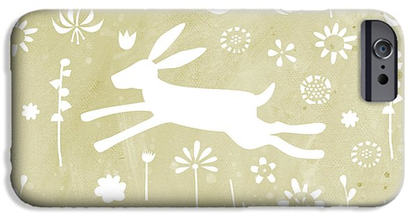 The Hare In The Meadow IPhone 6s Case by Nic Squirrell