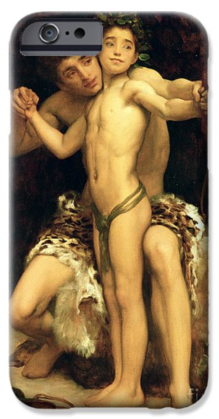 Leopard iPhone 6s Case - The Hit by Frederic Leighton