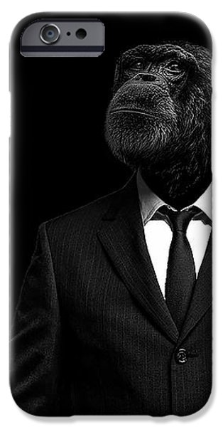 Chimpanzee iPhone 6s Case - The Interview by Paul Neville