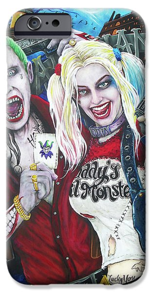 The Joker And Harley Quinn IPhone 6s Case