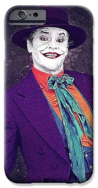 Heath Ledger iPhone 6s Case - The Joker by Zapista