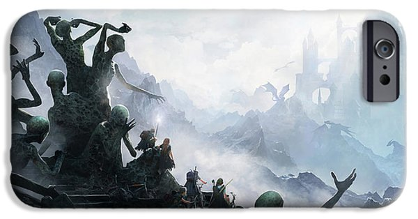 Knight iPhone 6s Case - The Journey by Guillem H Pongiluppi