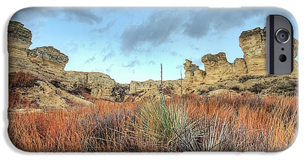IPhone 6s Case featuring the photograph The Kansas Badlands by JC Findley