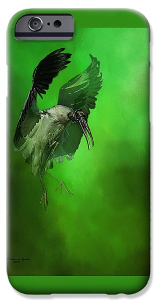 Stork iPhone 6s Case - The Landing by Marvin Spates