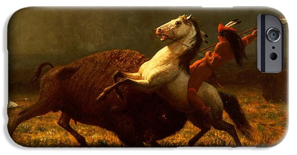 The Last Of The Buffalo IPhone 6s Case by Albert Bierstadt