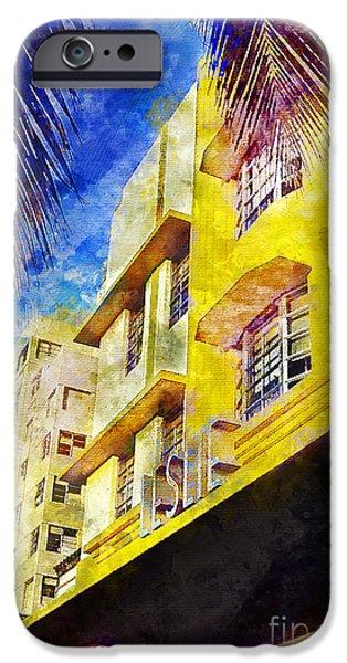 The Leslie Hotel South Beach IPhone 6s Case by Jon Neidert