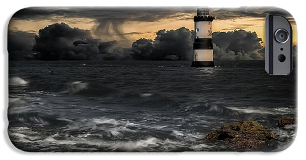 Puffin iPhone 6s Case - The Lighthouse Storm by Adrian Evans
