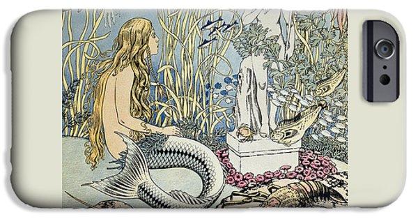 The Little Mermaid IPhone 6s Case by Ivan Jakovlevich Bilibin