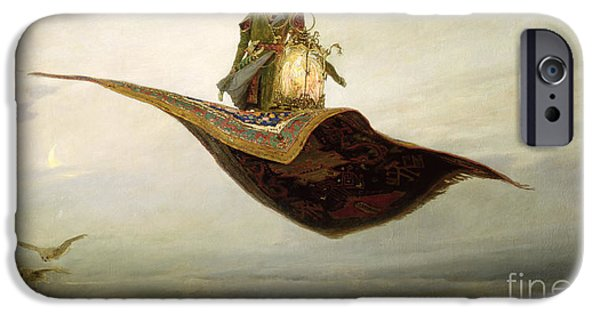 Magician iPhone 6s Case - The Magic Carpet by Apollinari Mikhailovich Vasnetsov