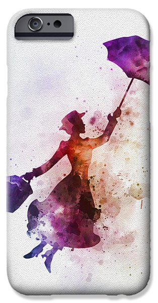 The Magical Nanny IPhone 6s Case by Rebecca Jenkins