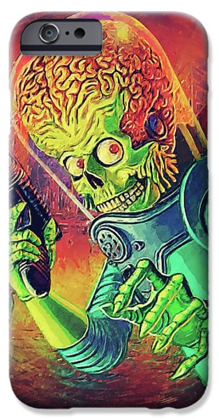 The Martian - Mars Attacks IPhone 6s Case