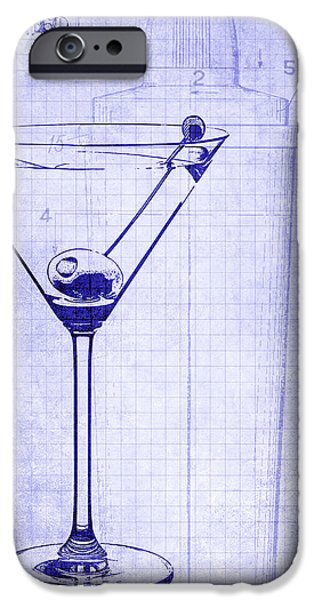 The Martini Blueprint IPhone 6s Case