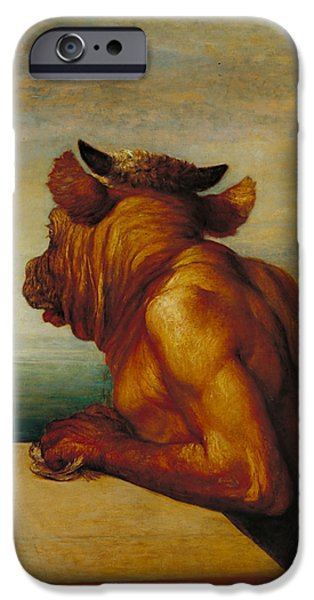 The Minotaur IPhone 6s Case by George Frederic Watts