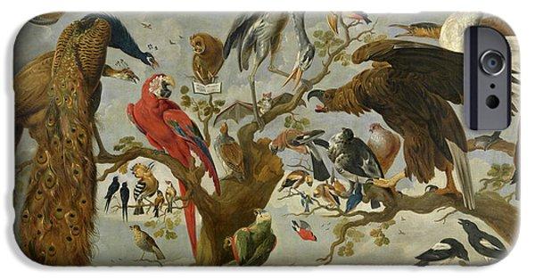 Meadowlark iPhone 6s Case - The Mockery Of The Owl by Jan van Kessel