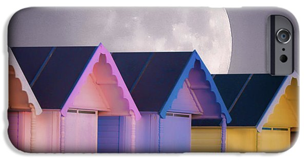 New England Coast iPhone 6s Case - The Moons Glow by Martin Newman