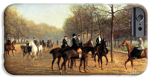 The Morning Ride Rotten Row Hyde Park IPhone 6s Case
