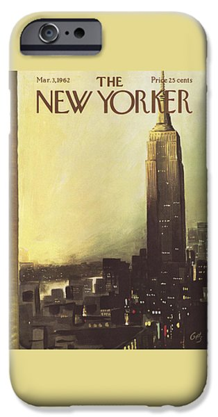 The New Yorker Cover - March 3rd, 1962 IPhone 6s Case