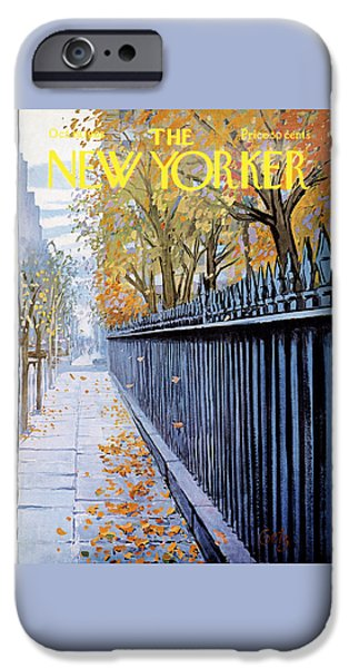 Autumn In New York IPhone 6s Case
