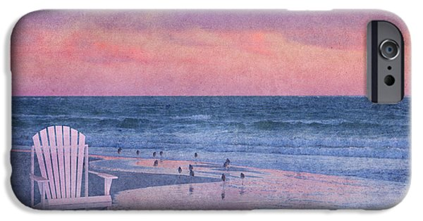 Sandpiper iPhone 6s Case - The Old Beach Chair by Betsy Knapp