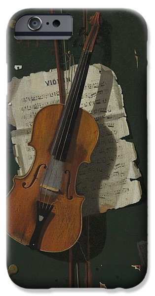 The Old Violin IPhone 6s Case by John Frederick Peto