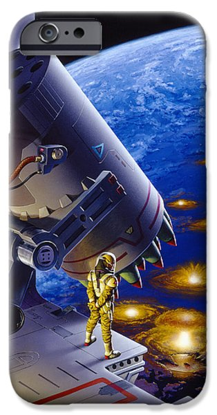 The Pacifist IPhone Case by Richard Hescox