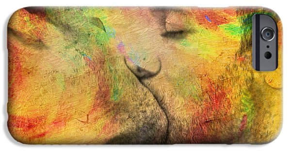 Nudes iPhone 6s Case - The Passion Of A Kiss 1 by Mark Ashkenazi