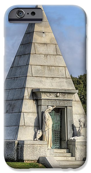 IPhone 6s Case featuring the photograph The Pyramid In Metairie Cemetery by JC Findley