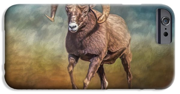 Rocky Mountain Bighorn Sheep iPhone 6s Case - The Ram by Teresa Wilson