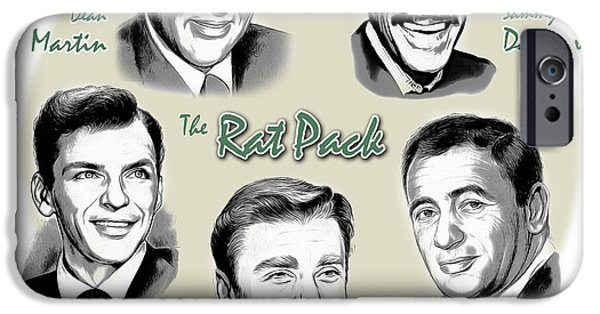 The Rat Pack IPhone 6s Case by Greg Joens