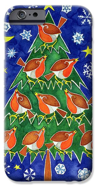 The Robins Chorus IPhone 6s Case by Cathy Baxter