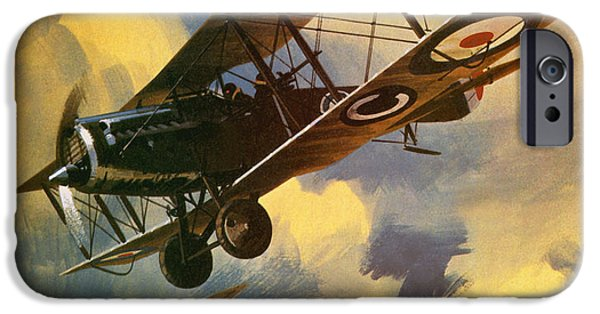 Airplane iPhone 6s Case - The Royal Flying Corps by Wilf Hardy