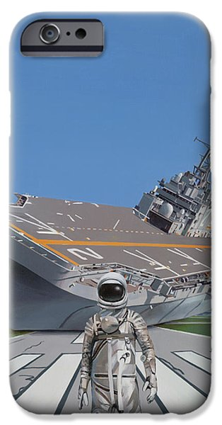 IPhone 6s Case featuring the painting The Runway by Scott Listfield
