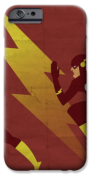 Scarlet iPhone 6s Case - The Scarlet Speedster by Michael Myers
