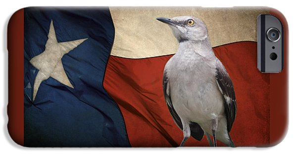 Mockingbird iPhone 6s Case - The State Bird Of Texas by David and Carol Kelly