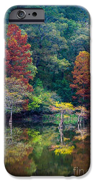 Beaver iPhone 6s Case - The Stillness Of The River by Inge Johnsson