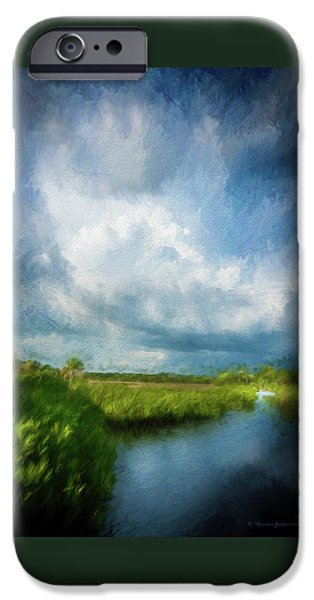 Alligator iPhone 6s Case - The Storm by Marvin Spates