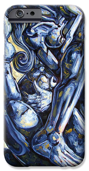 Nudes iPhone 6s Case - The Struggle by Darwin Leon